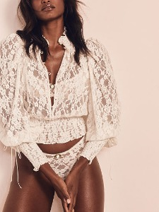 For Love & Lemons NEW! Violetta Lace top 407-574