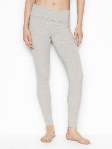 [다양한 컬러]Victoria's Secret NEW! Anytime Cotton Foldover Legging 404-812