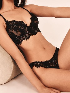 For Love & Lemons NEW! Faye Lace Thong Panty 406-826