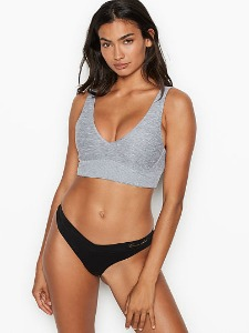 [다양한 컬러]Victoria's Secret NEW! Unlined Heather Plunge Bralette 404-389